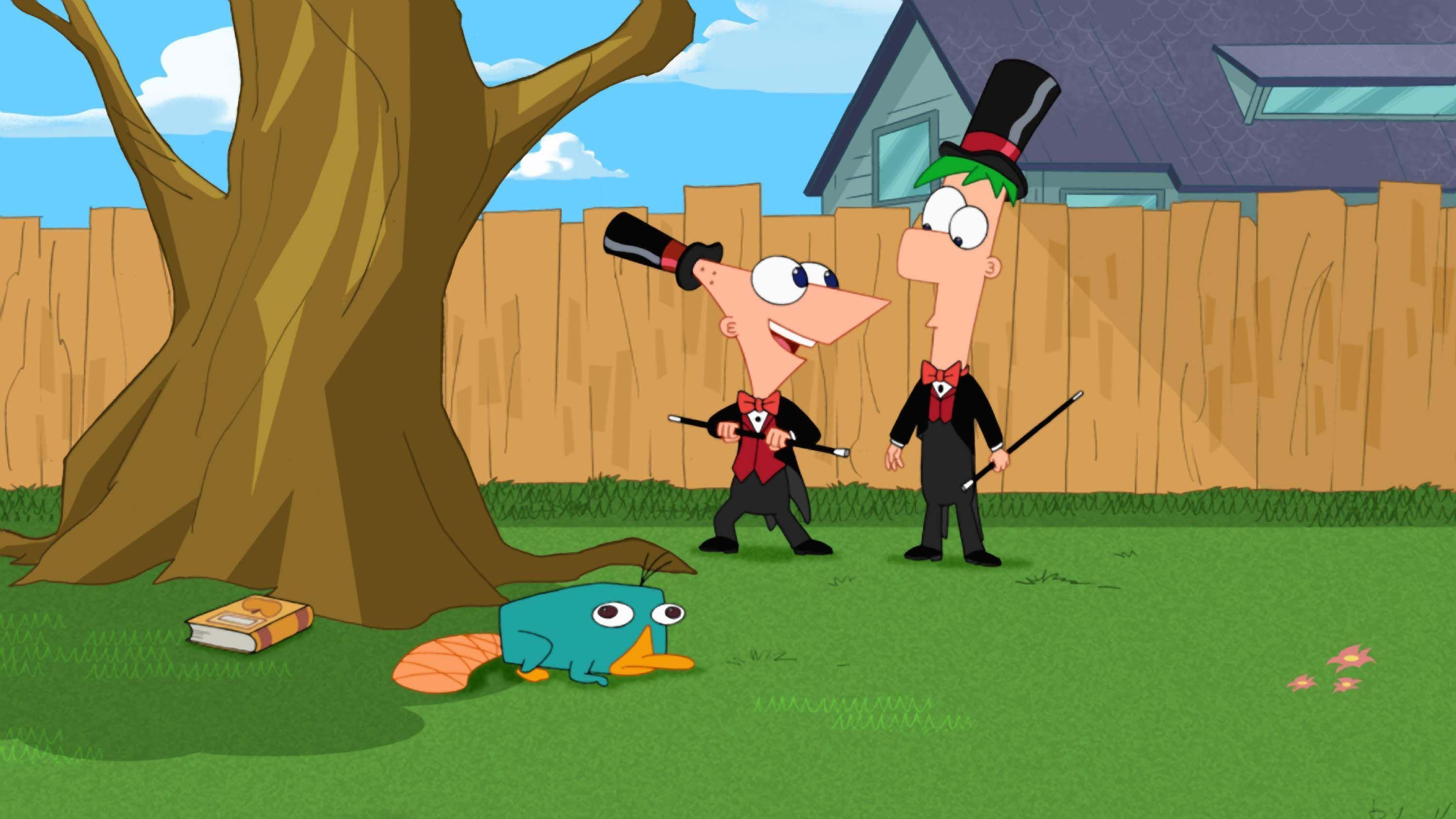 Phineas and ferb wallpaper iphone