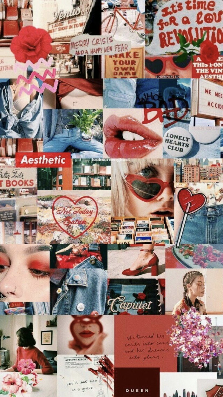 Aesthetic Collage Wallpapers   Top Aesthetic Collage 750x1334