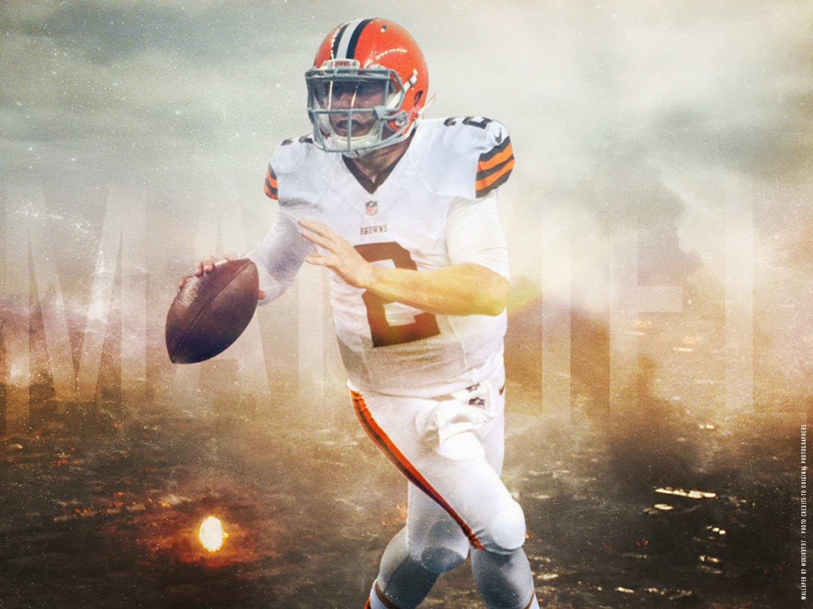 [43+] Johnny Manziel Cleveland Browns Wallpaper On
