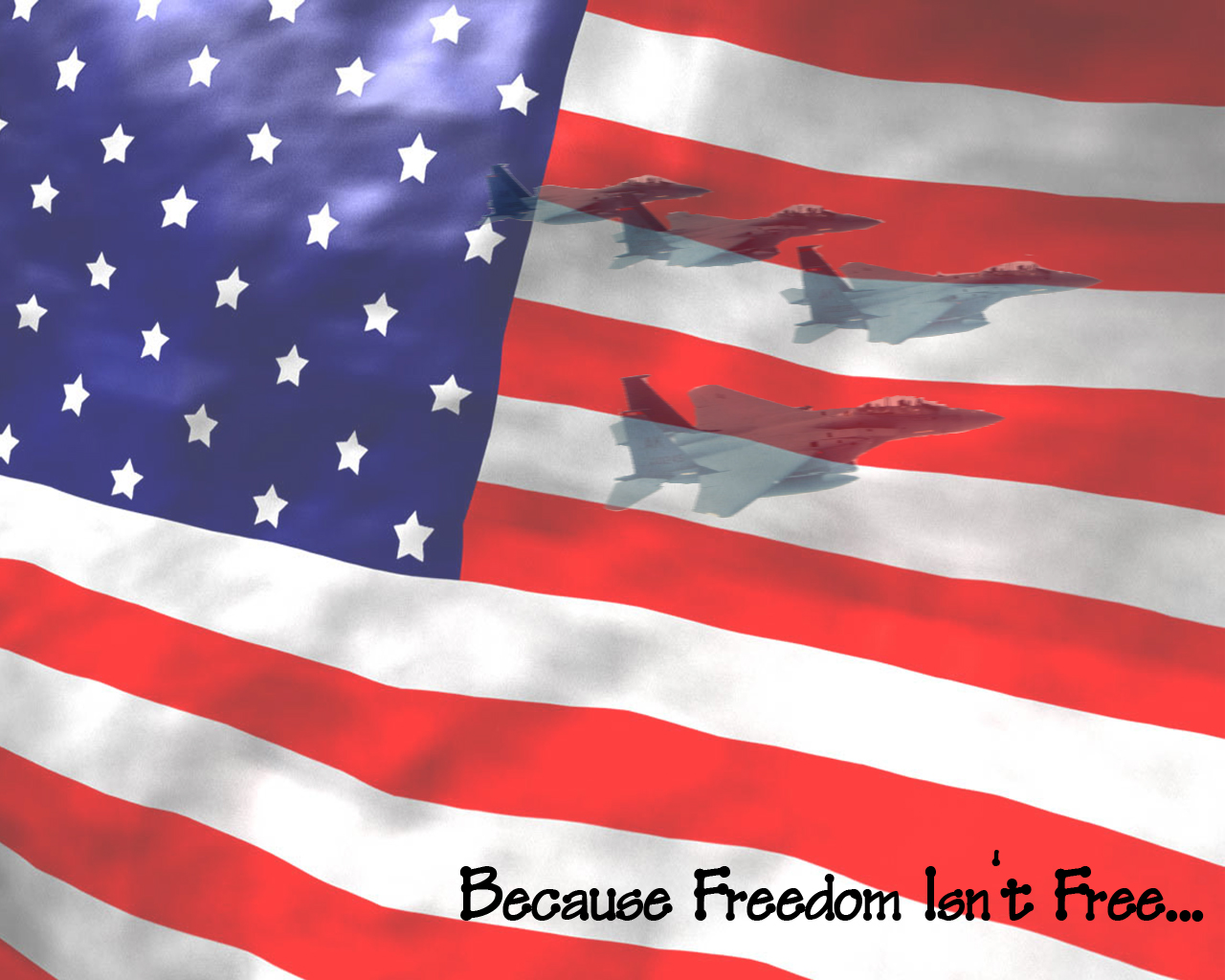 Because Freedom Isnt by Demigod121 on deviantART 1280x1024