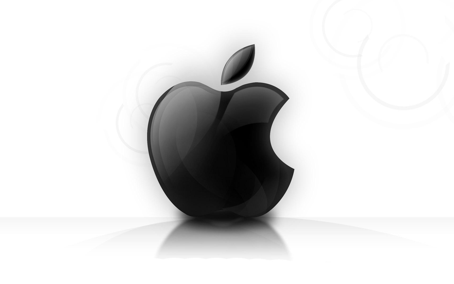 Black white Apple background Wallpaper and make this wallpaper for 1920x1200