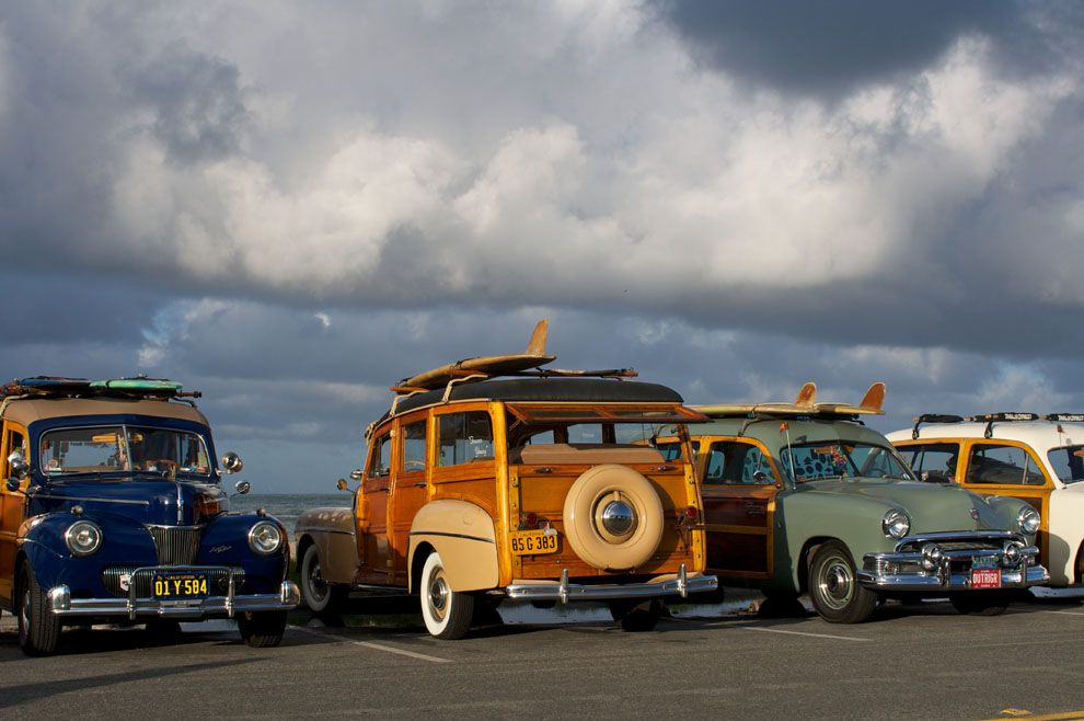 Photo Classic Cars Surfboards Southern California 990x658