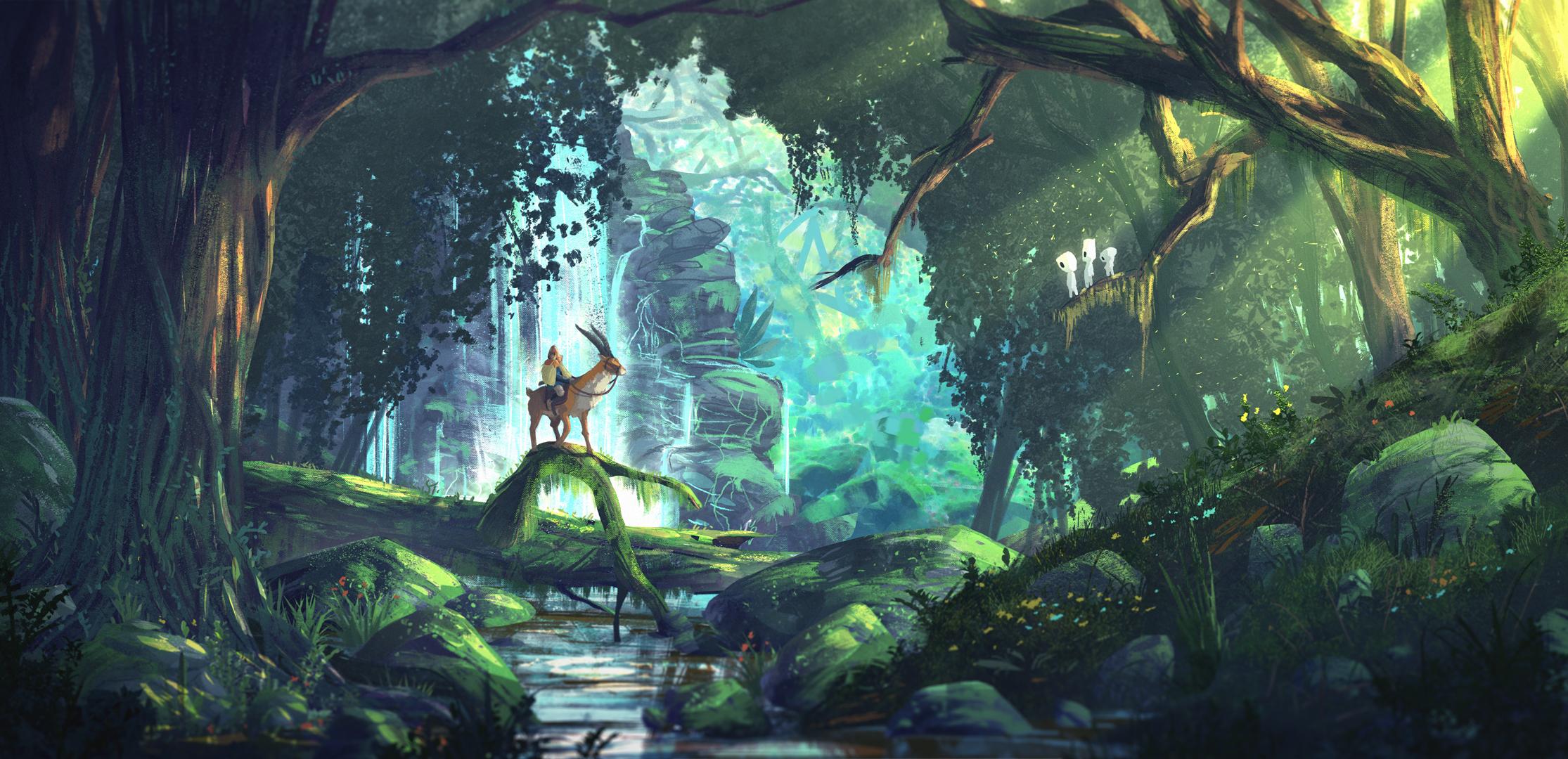 Image Result For Princess Mononoke Wallpapers Theotaku Com