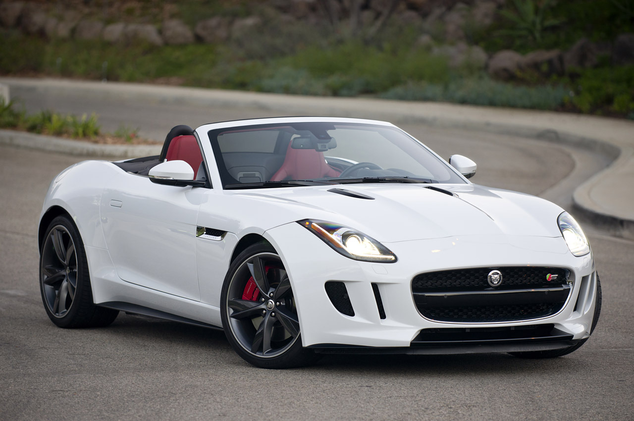 White Jaguar F Type Wallpaper Android 12371 Wallpaper WallpaperLepi 1280x850