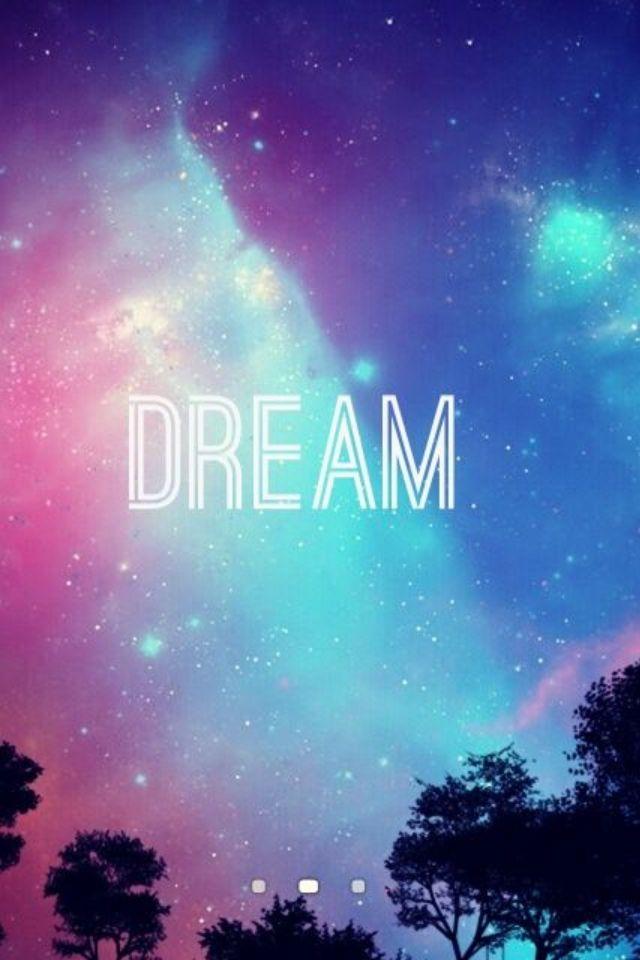 dream Wallpapers in 2019 Cute galaxy wallpaper Tumblr iphone 640x960