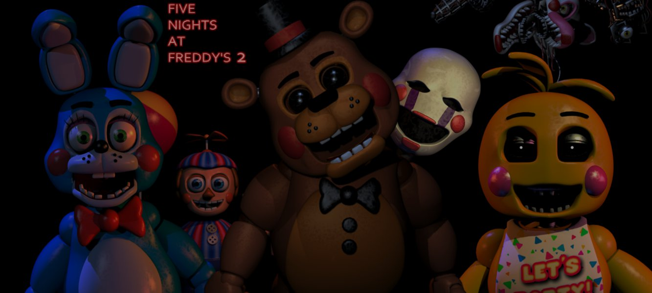 Free Download Five Nights At Freddys 2 Toy Wallpaper By Elsa