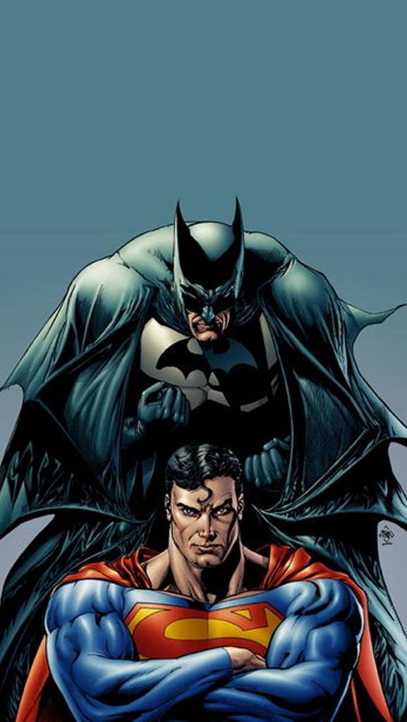 Batman and Superman iPhone 5 Wallpaper 577x1024 577x1024