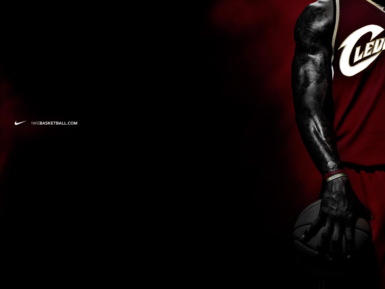 James Wallpapers from Nike Basketball NIKE LEBRON   LeBron James 1600x1200