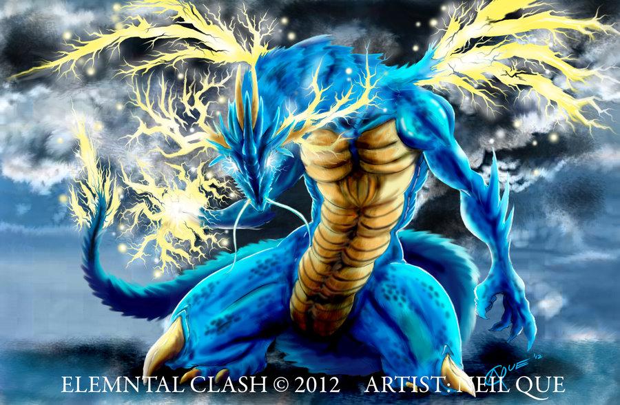 Lightning Dragon Wallpaper For Free  WallpaperSafari
