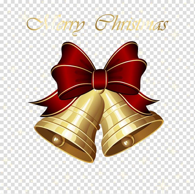 Christmas decoration Jingle bell Christmas bells transparent 800x796