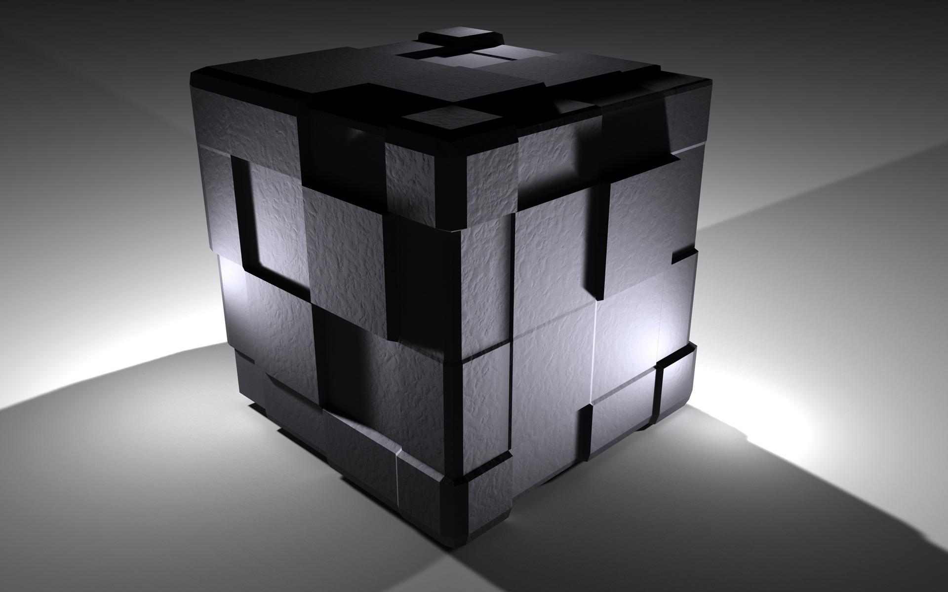 Black Cube Wallpaper 2050 1920 x 1200   WallpaperLayercom 1920x1200