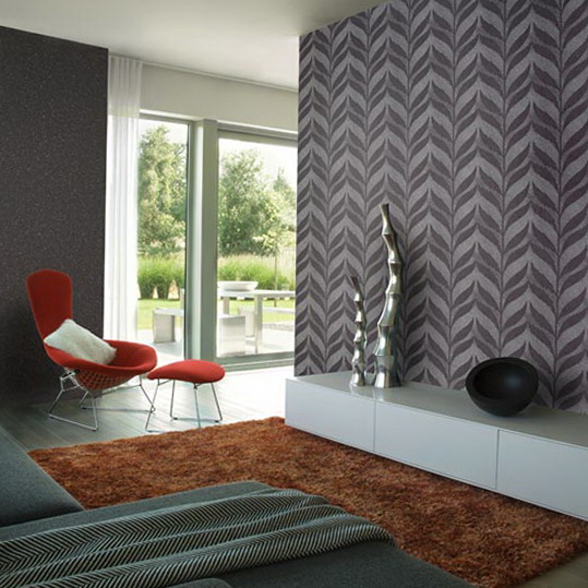 Interior Design with Modern Wallpapers Best Design Projects 539x539