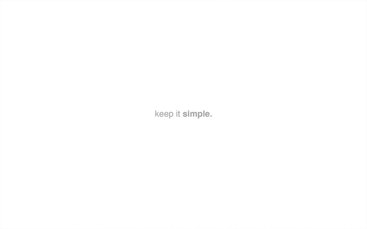 White Minimalist Desktop Wallpapers   Top White Minimalist 1280x800