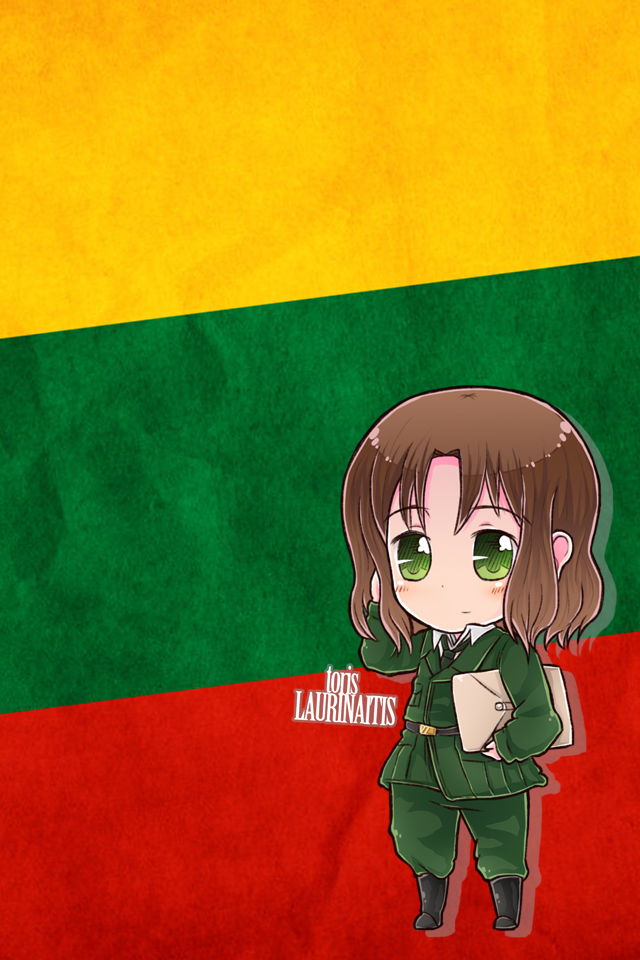 Hetalia iWallpapers   Lithuania by Dreamweaver38 640x960