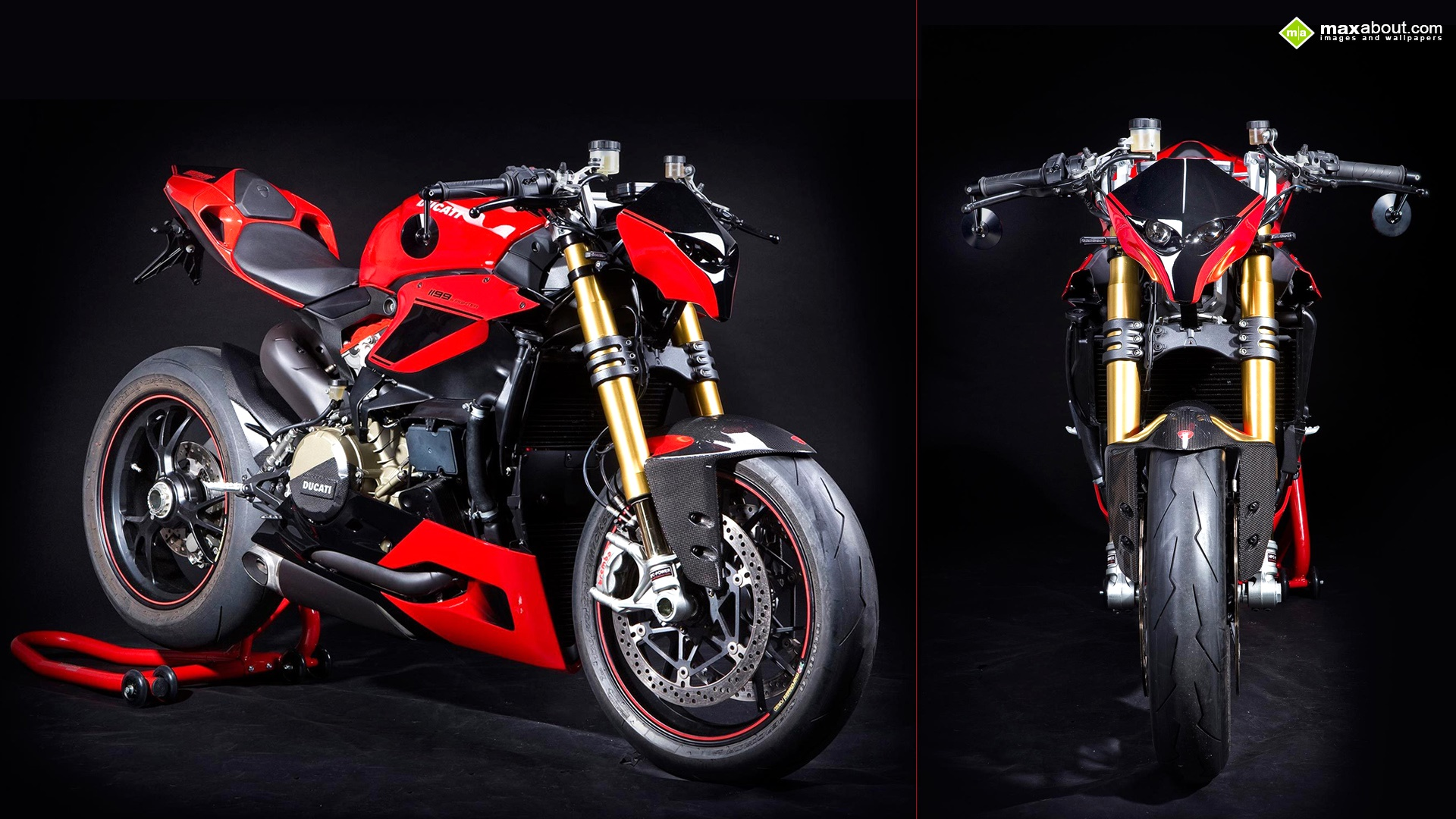 Ducati 1199 Panigale Streetfighter by Hertrampf 1920x1080