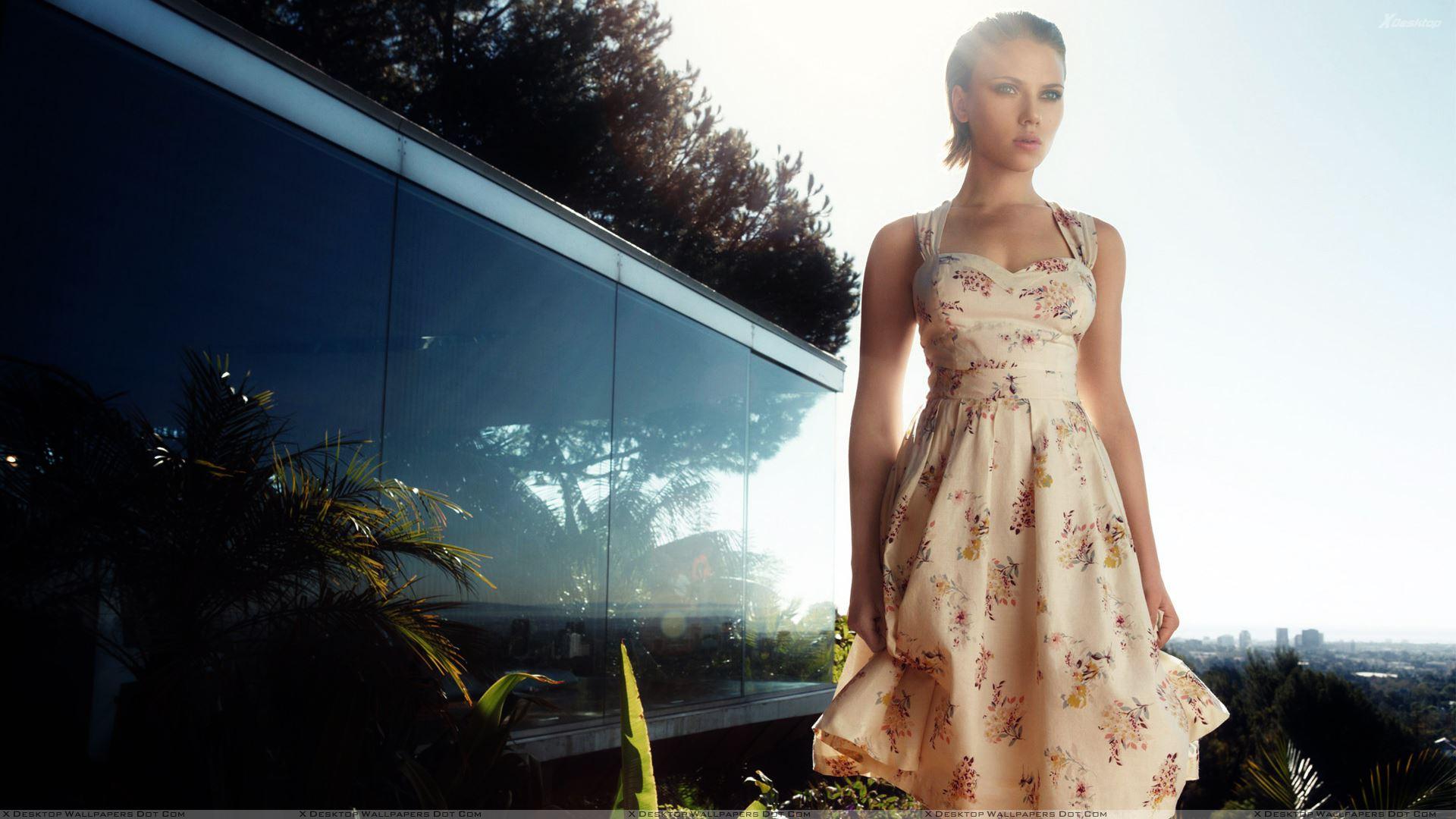 Scarlett Johansson 1080p Wallpaper