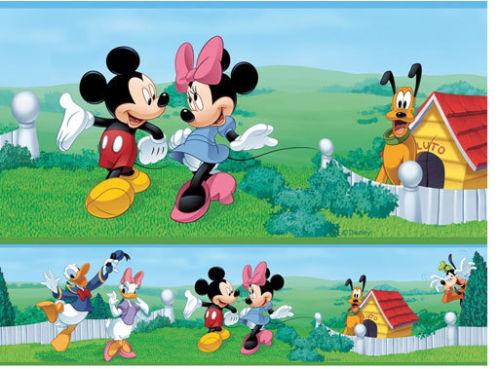 mickey mouse wallpaper border 500x369