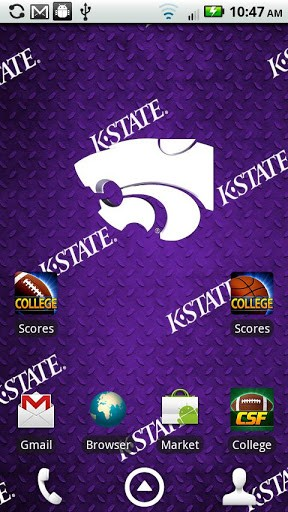 Kansas State Live Wallpaper App for Android 288x512