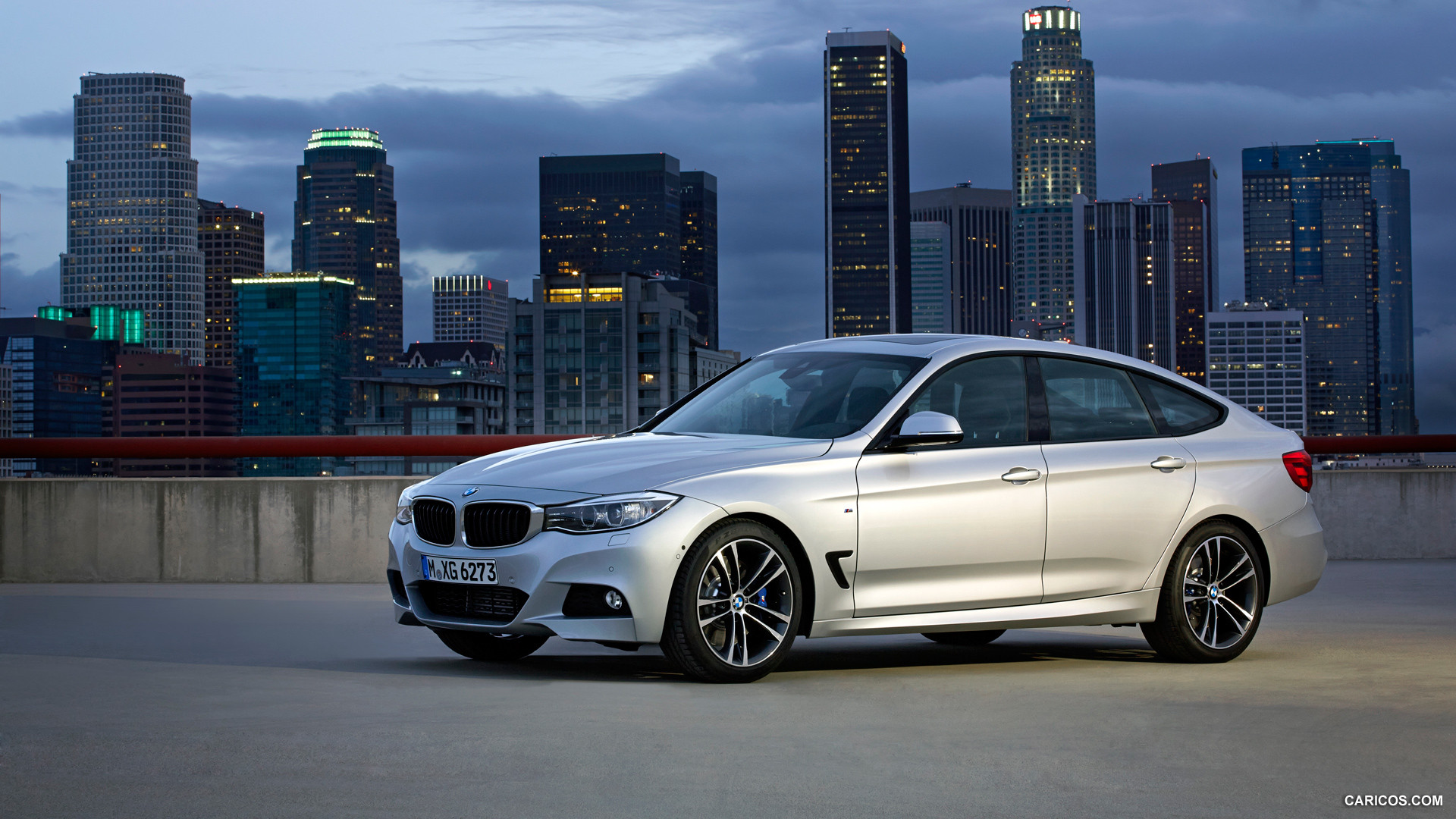2014 BMW 3 Series Gran Turismo M Sport Package   Side HD 1920x1080