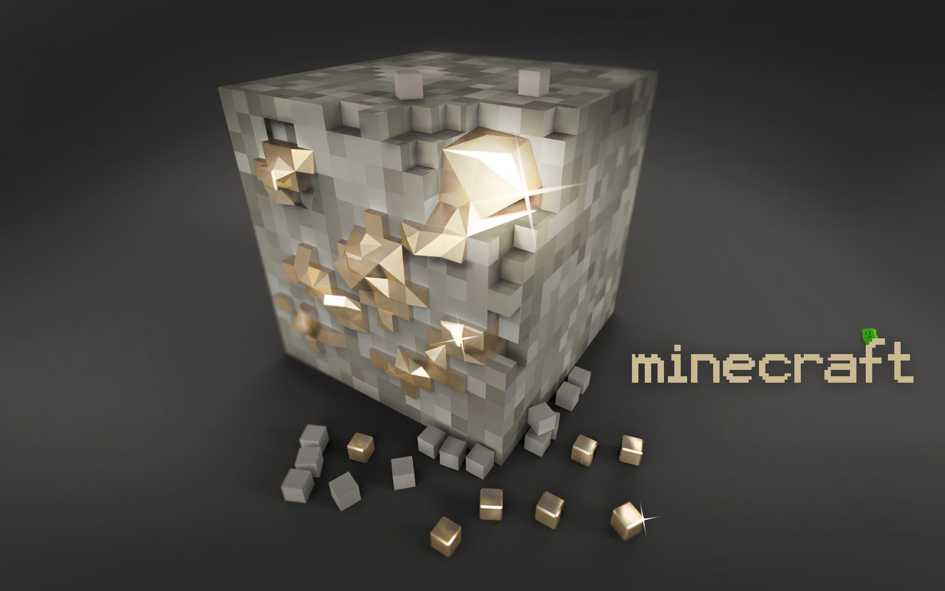 minecraft gold wallpaper paper pictures jocuri 1920x1200