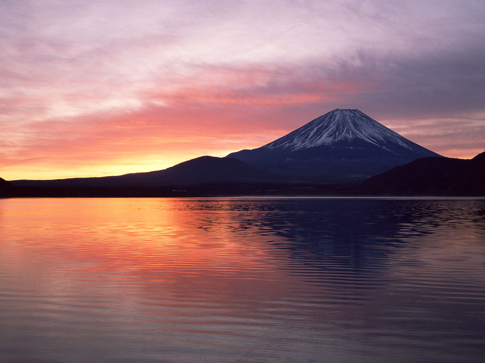 Hilly Areas Of The World Mount Fuji Wallpapers 1600x1200