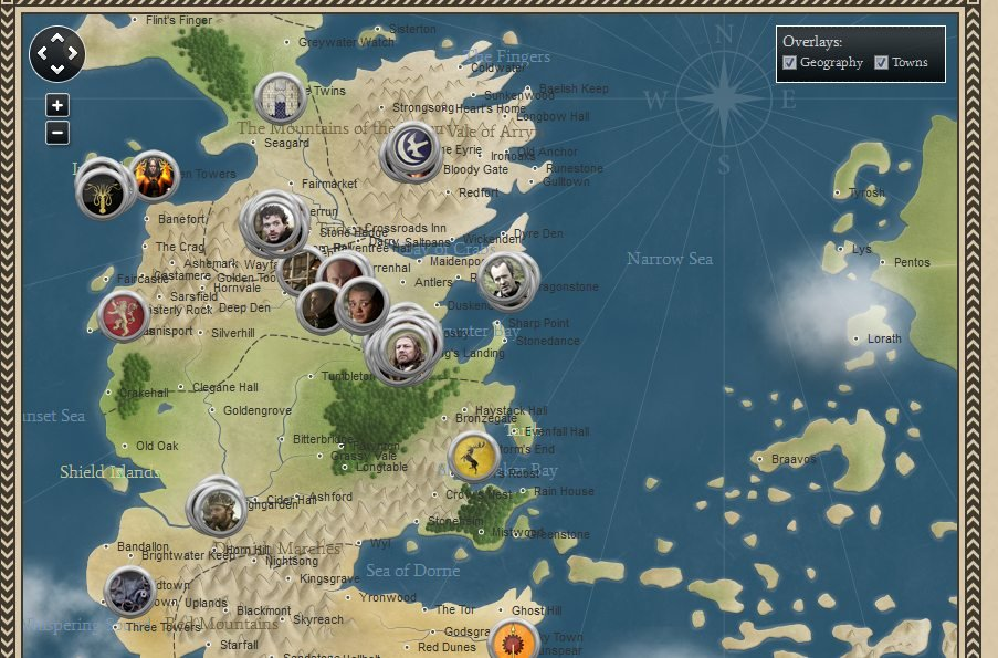 Game Of Thrones Map Hd Pdf | Gameswalls org