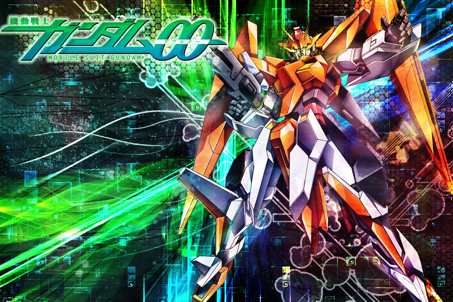 Gundam 00 wallpaper  kyrios by kaki toripng 900x600
