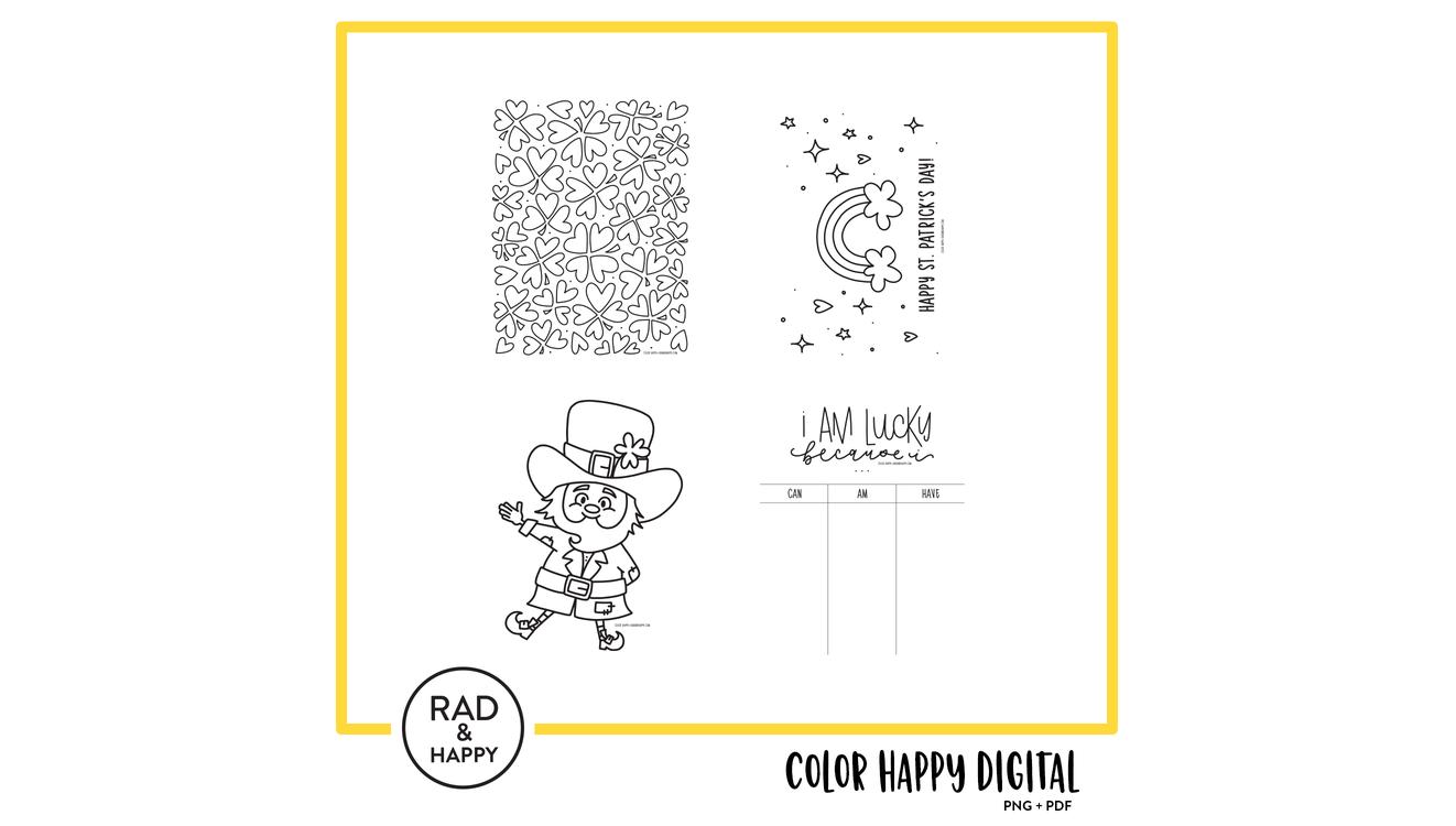 Color Happy   RAD HAPPY 1322x750