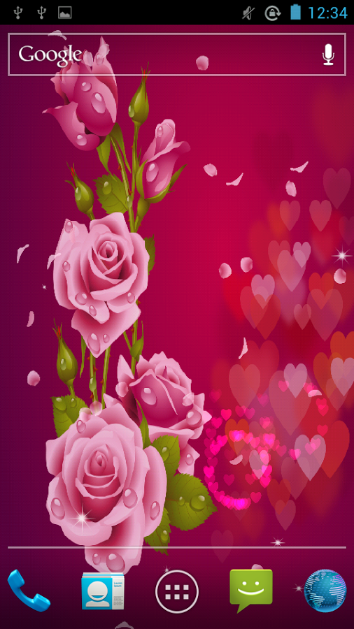 Love Rose Live Wallpaper   Android Apps on Google Play 506x900
