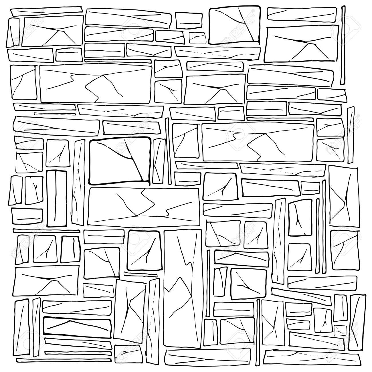 Rough Stonework Background Of Old Stone Wall Masonry Vector 1300x1300