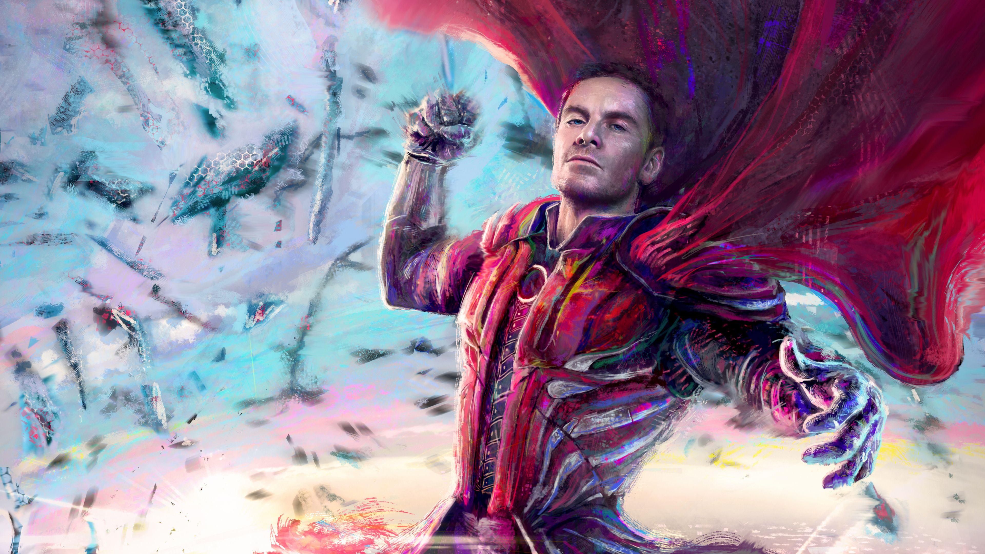 Magneto Artwork 5k x men wallpapers superheroes wallpapers hd 3840x2160