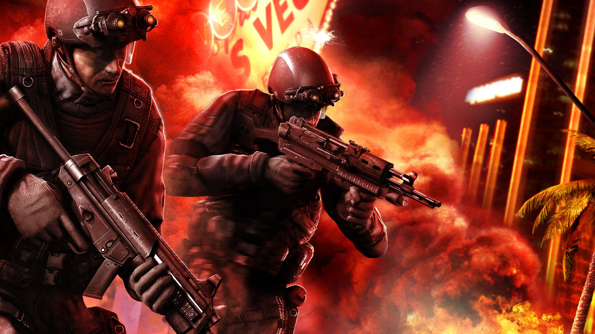 Tom Clancys Rainbow Six Vegas 2 Wallpapers HD Wallpapers 1920x1080