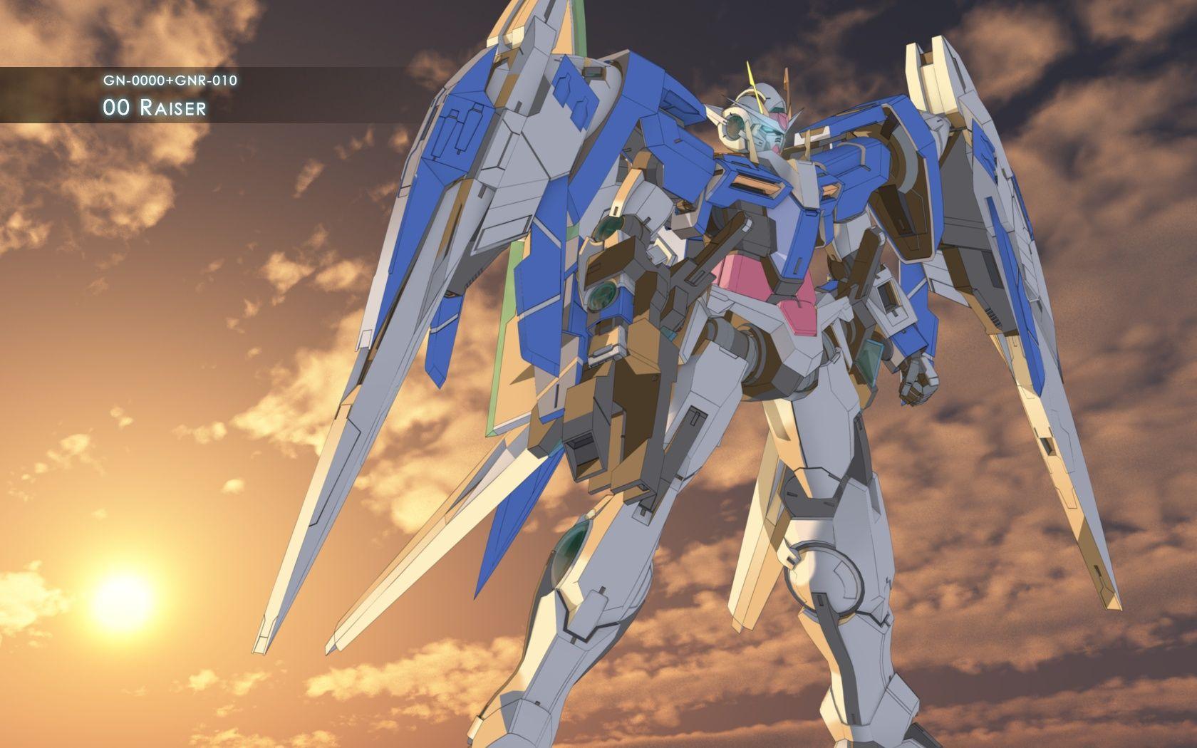 Gundam 00 Raiser Wallpapers 1680x1050