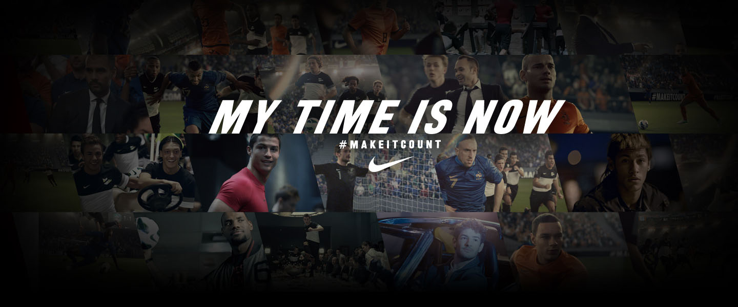 5marts Nike Football MY TIME IS NOW 1440x600