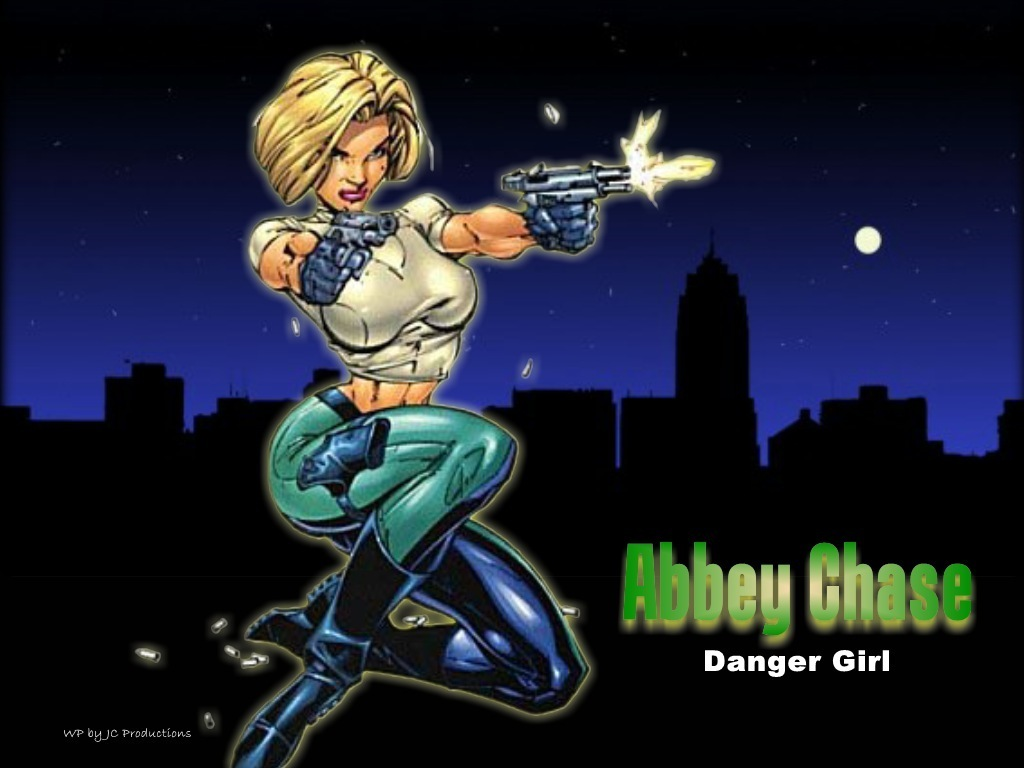 Comic Books images Abbey Chase from the Danger Girl comics HD 1024x768