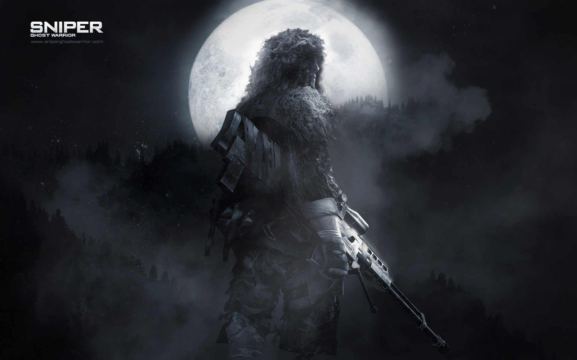 wallpapers warrior papers ghost sniper 1920x1200