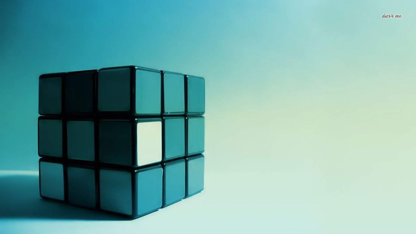 Game   Rubiks Cube Cube Wallpaper 1366x768