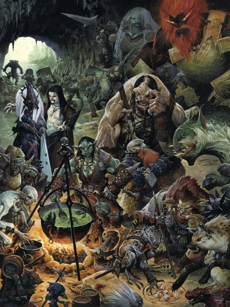 Pics For Pathfinder Rpg Background 748x1000