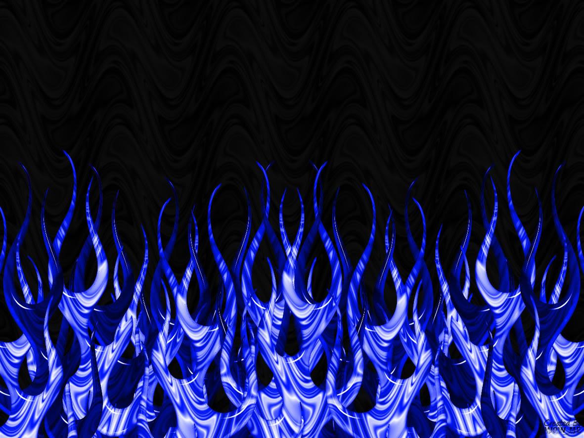 Blue Flames Wallpaper 1181x886