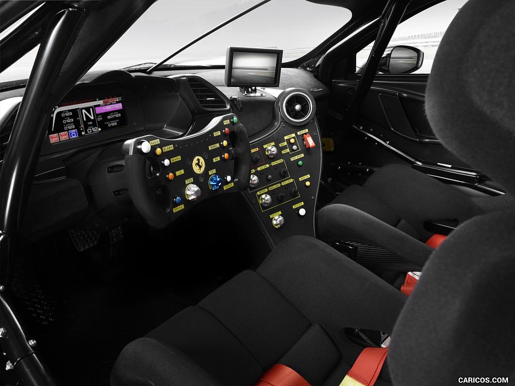 2020 Ferrari 488 Challenge Evo   Interior HD Wallpaper 5 1024x768