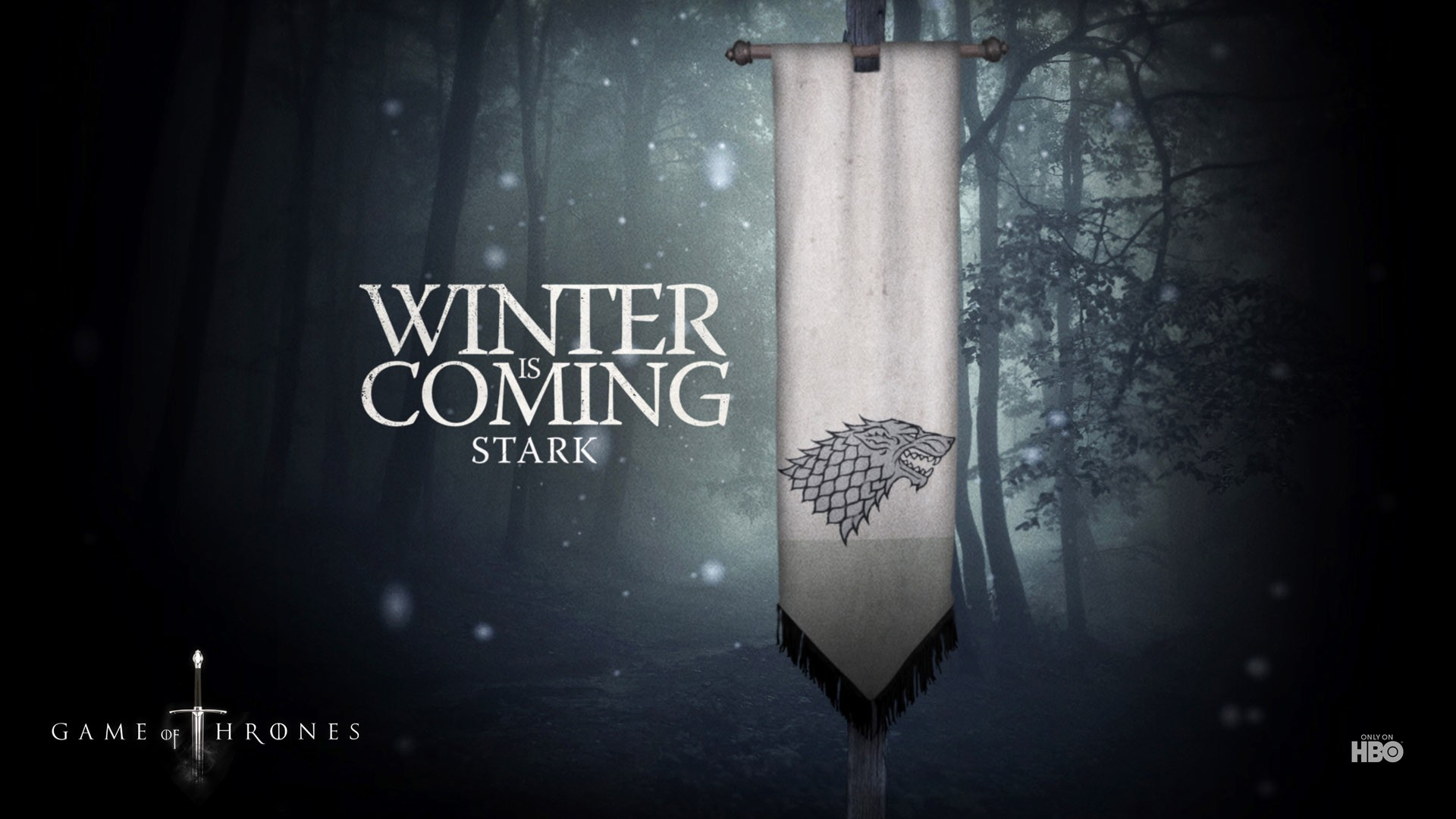 Winter Is Coming Wallpapers Wolf Winter Is Coming HD Wallpapers 1920x1080