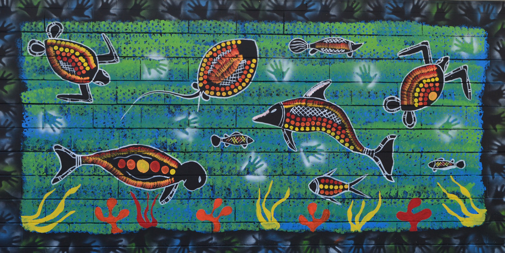 Sea Animals Border The Border Surrounding The Sea 1000x502