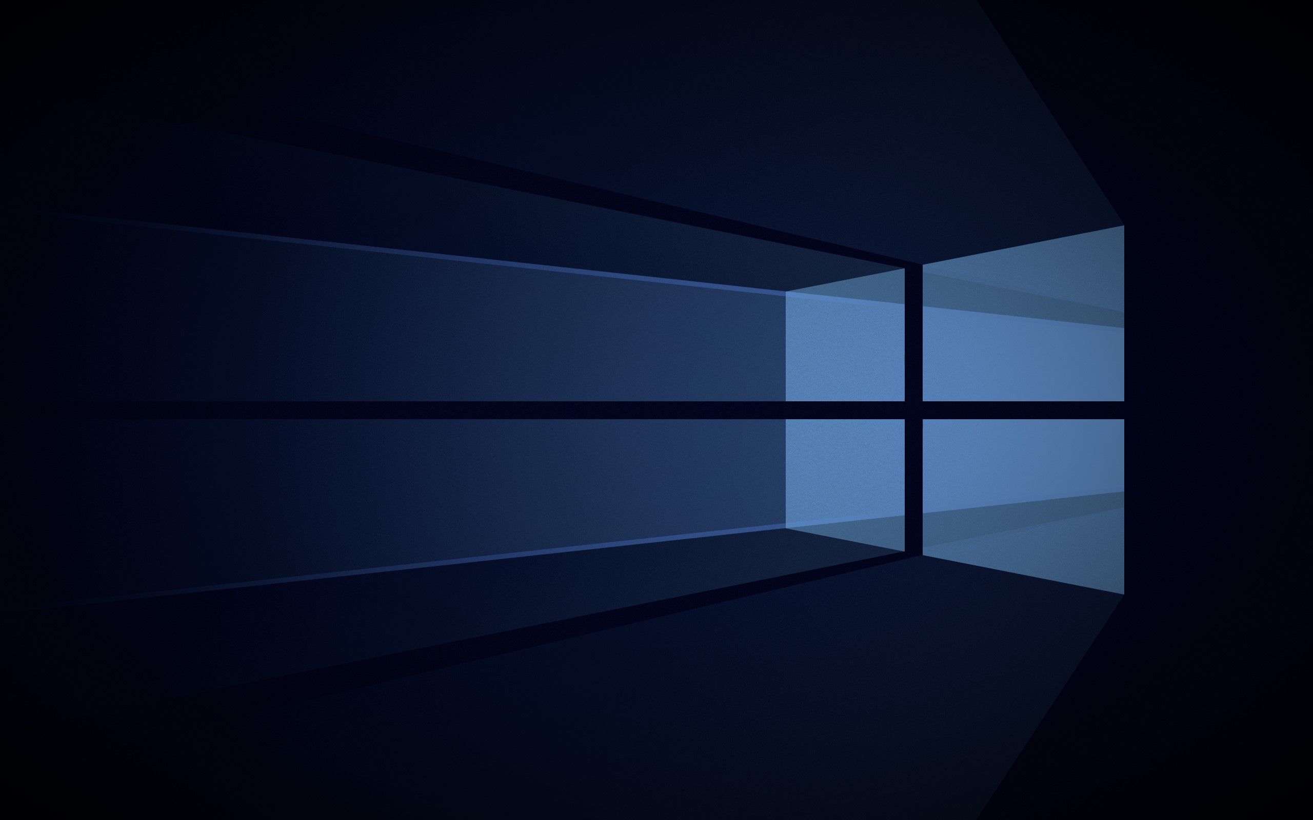 Minimalist ModernFlat UI version of the Windows 10 Hero Wallpaper 2560x1600