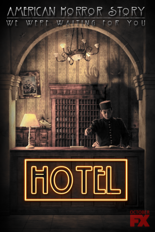 Ahs Hotel Promo Poster