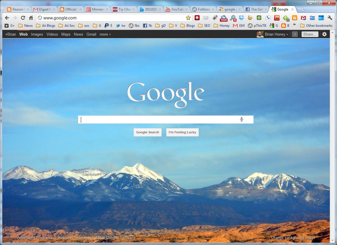 how to set google apps as homepage