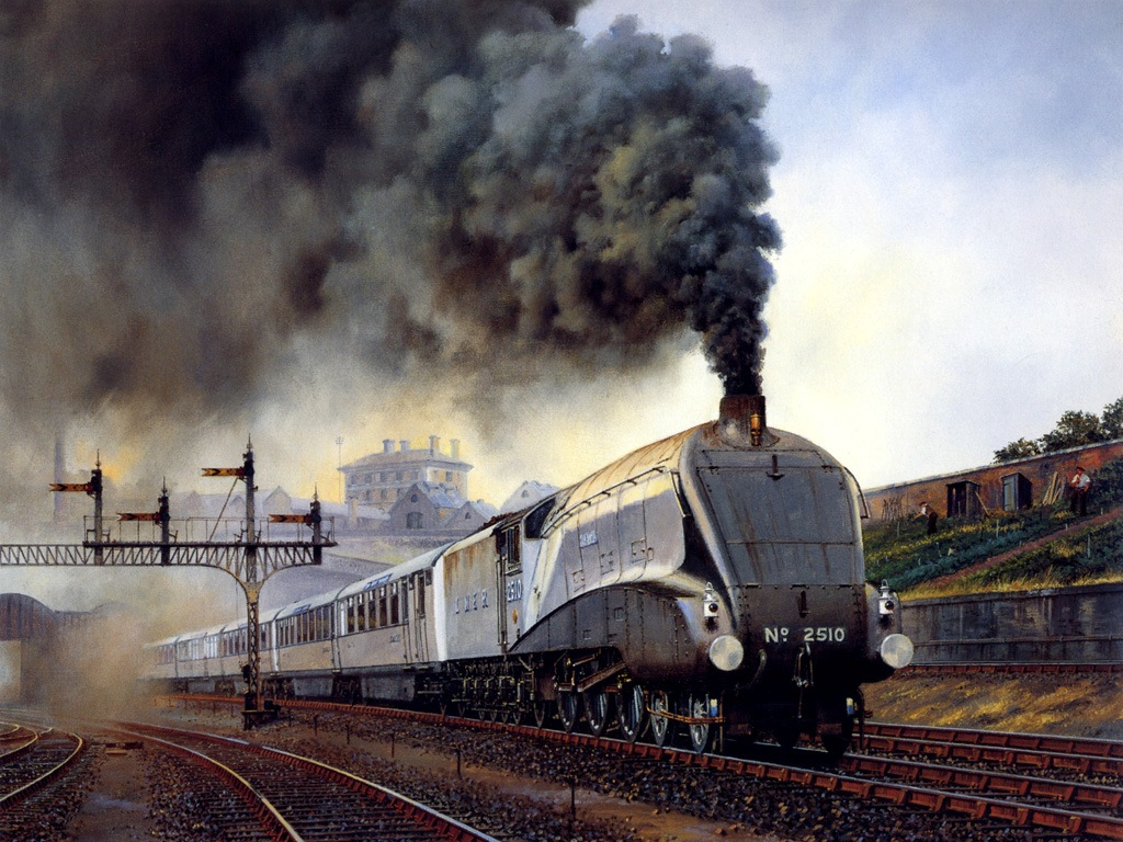 Steam Train Wallpaper Desktop Wallpapersafari