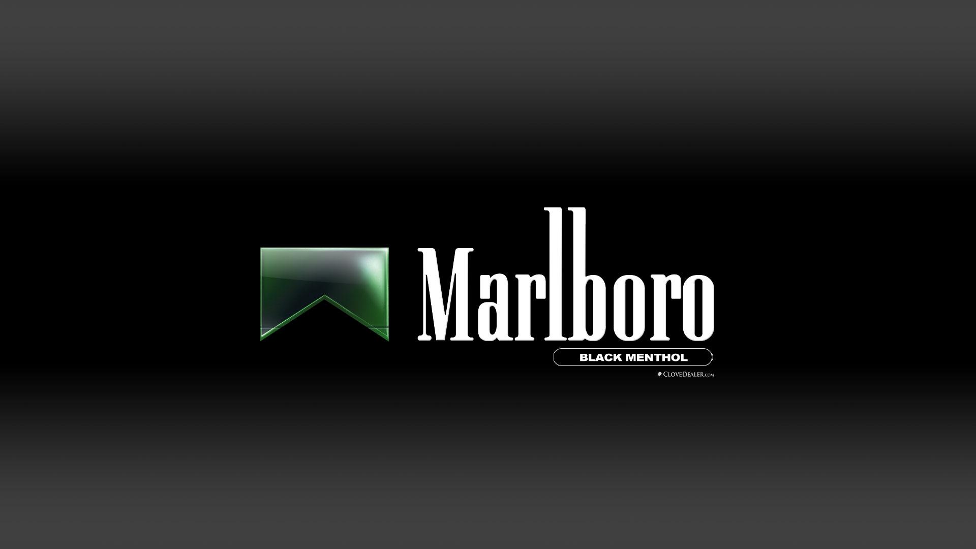 Marlboro Black Menthol Cigarettes Wallpaper HD by 1920x1080