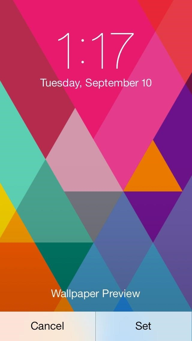 All of the wallpapers have the parallax effect in full so youll see 640x1136