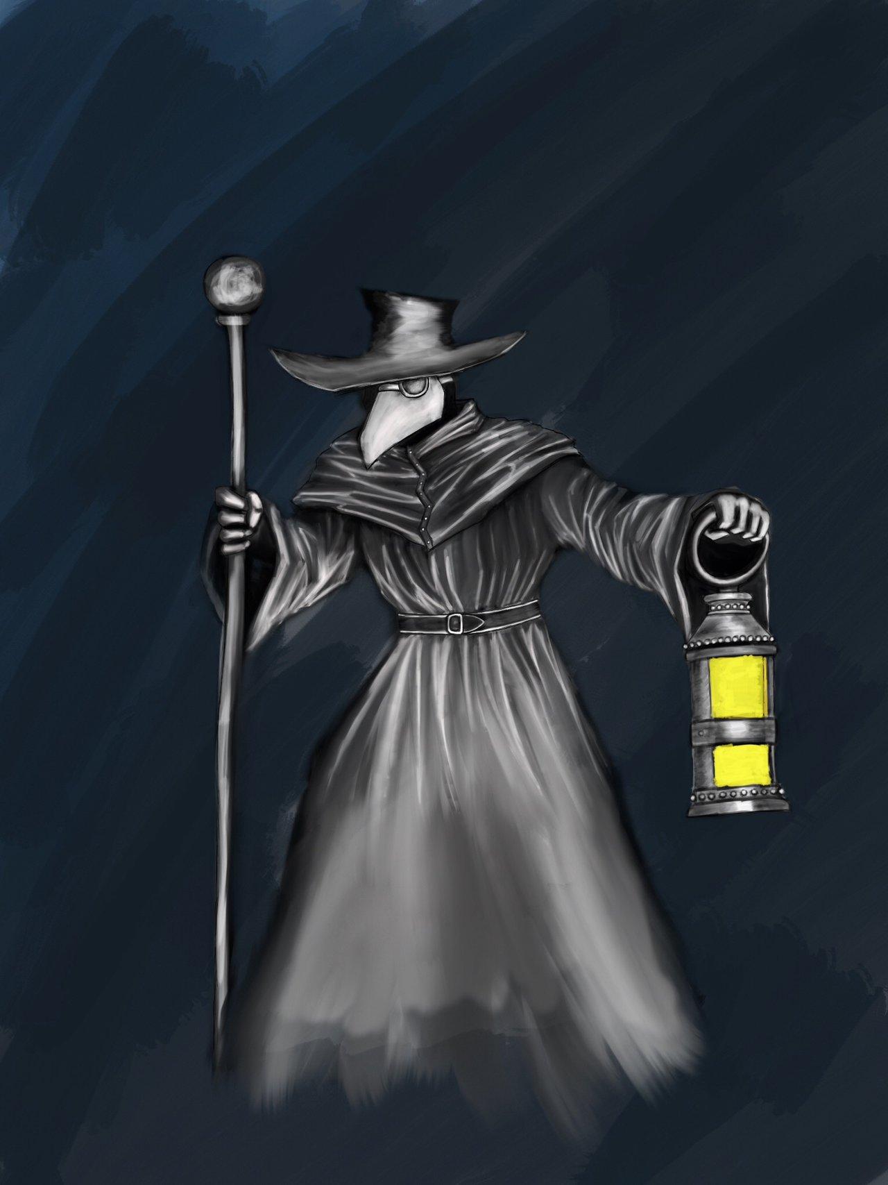 Plague doctor by Felarn 1280x1707