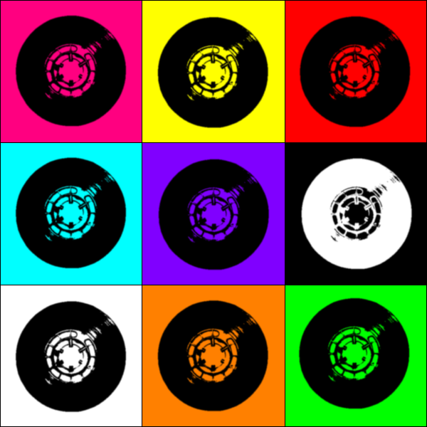 Record Wallpaper by RXG 600x600